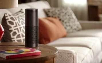 Alexa Amazon Echo salotto