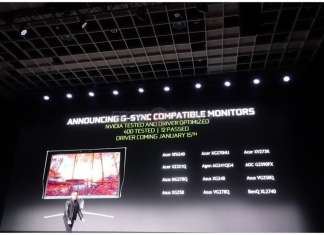 Nvidia supporta Adaptive-Sync FreeSync VESA