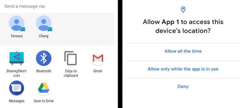 Android Q sistema di notifiche ad alta priorità