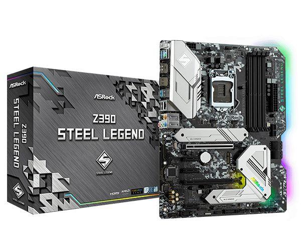 ASRock scheda madre Z390 Steel Legend