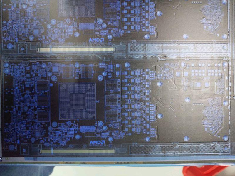 PCB AMD Radeon RX 3080 XT Navi