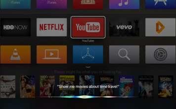 Siri controllare Apple TV