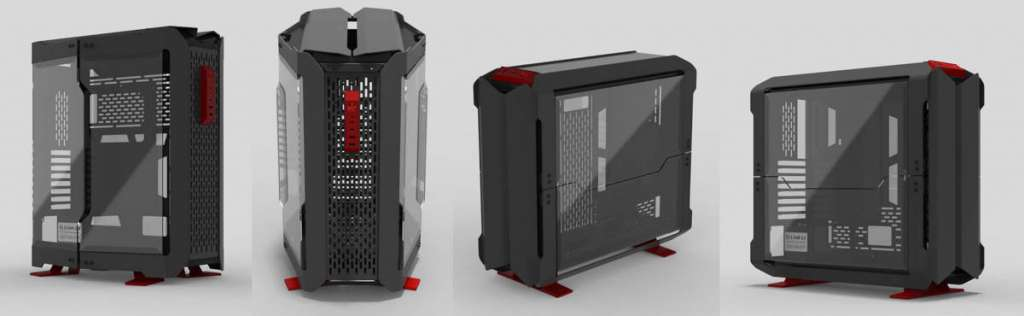 meglio Computex 2019 Lian Li Odyssey X