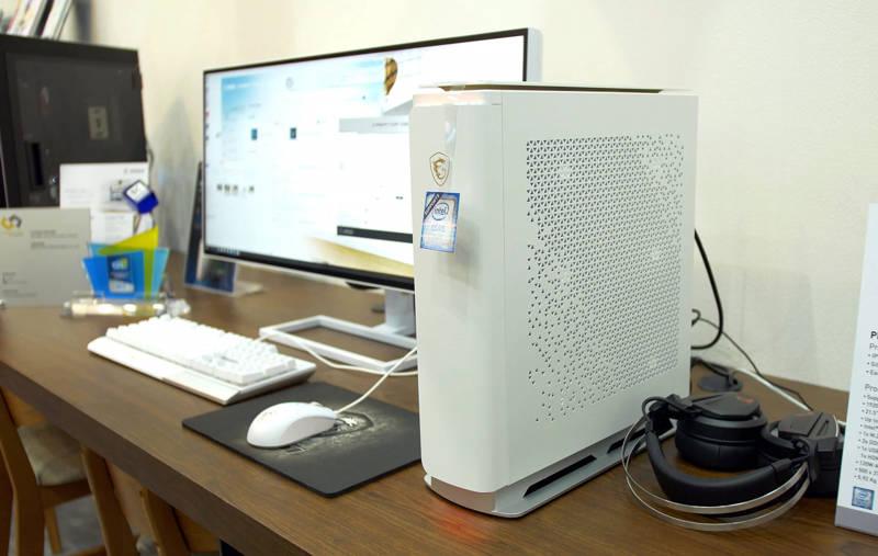 meglio Computex 2019 MSI Prestige P100