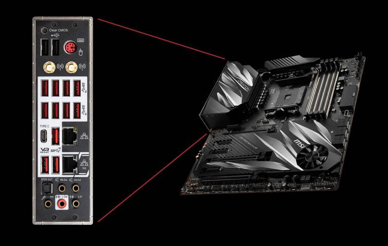 meglio Computex 2019 MSI Prestige X570 Creation