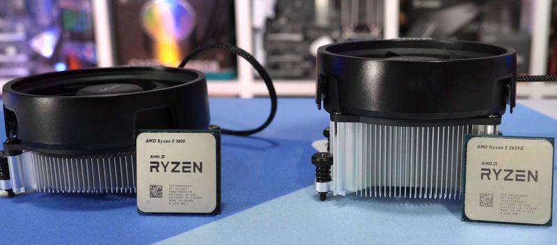 Ryzen 5 3600 vs 3600X quale acquistare