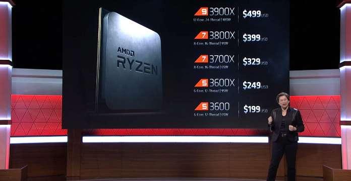 benchmark AMD Ryzen 9 3950X cpu