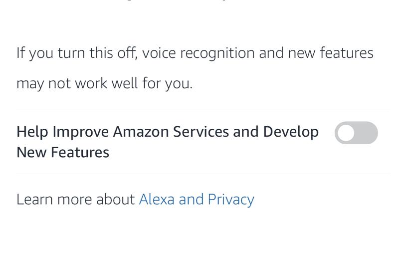 Impedire registrazioni Amazon Alexa