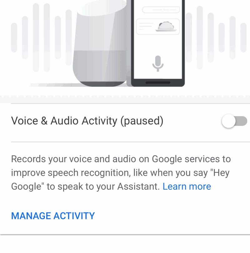 Impedire registrazioni Assistente di Google