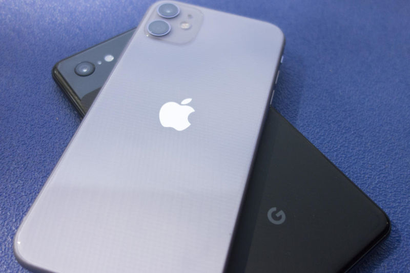 Passare da Android a iPhone 11 differenze