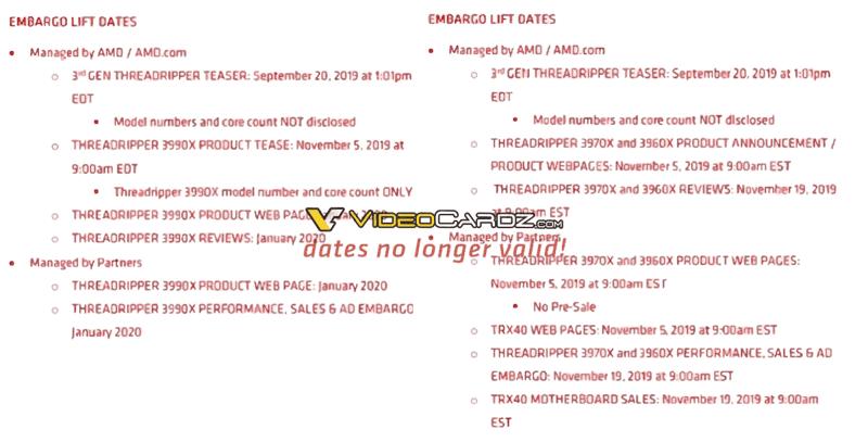 AMD Threadripper annuncio 7 novembre