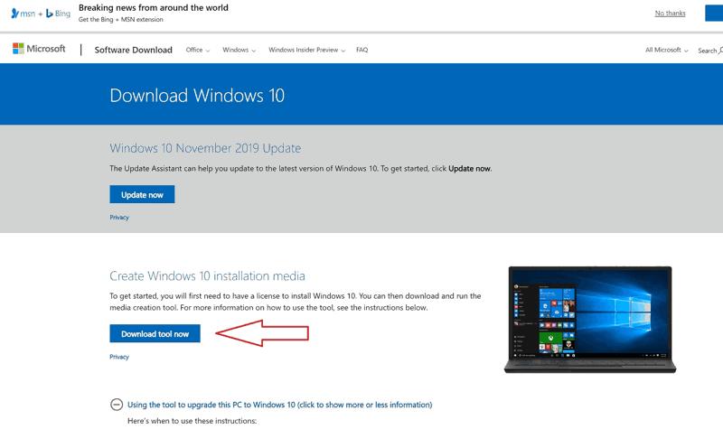 Eseguire l'aggiornamento a Windows 10 gratuitamente