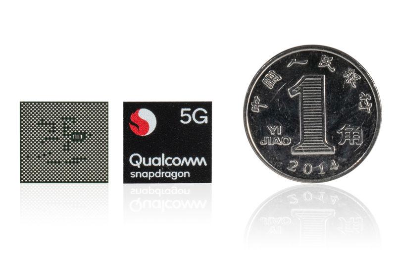 Snapdragon 765 vs 865 dimensioni chip