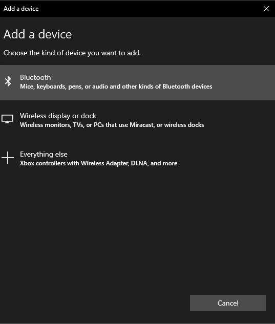 collegare il controller Switch Pro al PC bluetooth