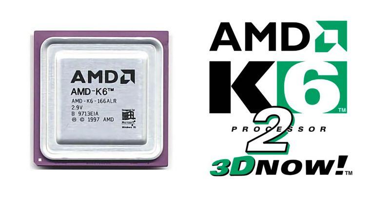 Il K6-2 ha introdotto 3DNow di AMD
