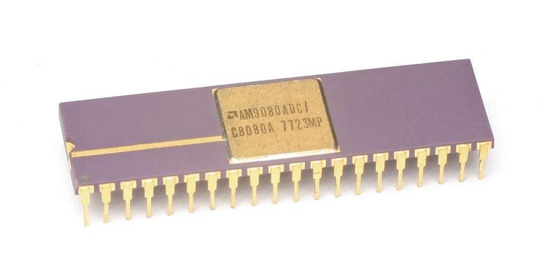 La prima CPU AMD Am9080