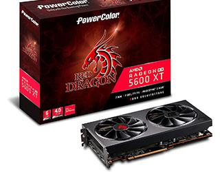 migliori AMD RX 5600 XT PowerColor Red Dragon Radeon