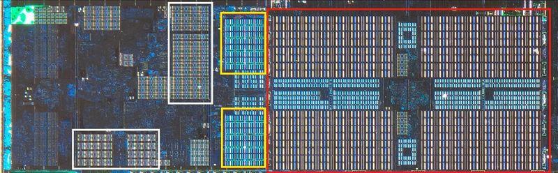 singolo core nell'architettura Zen 2 di AMD
