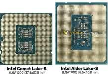 CPU rettangolare Alder Lake-S