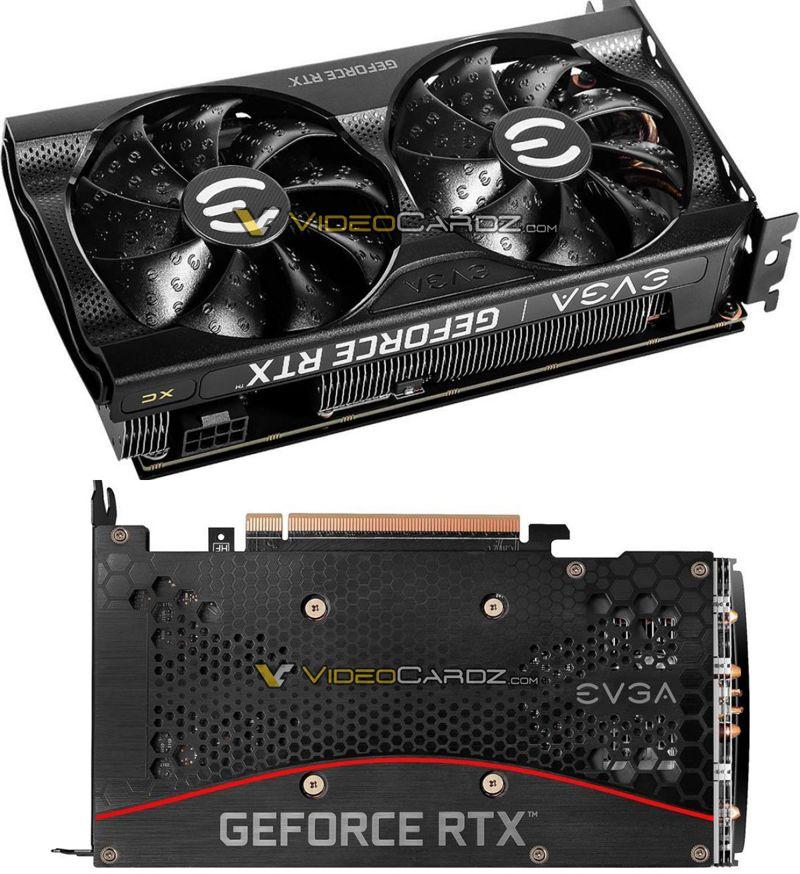 EVGA GeForce RTX 3060 Ti 8 GB XC3