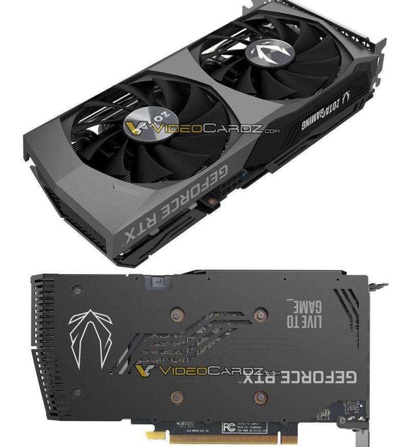 ZOTAC GeForce RTX 3060 Ti 8 GB Twin Edge