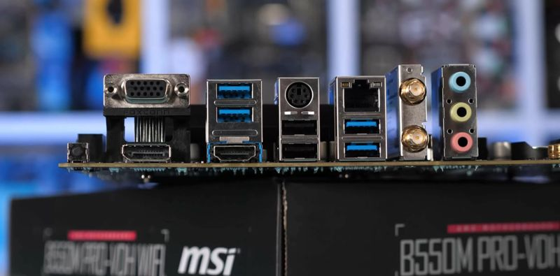 caratteristiche B550 msi