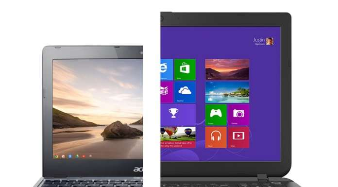 Chromebook o Notebook Windows