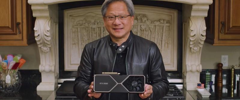 Nvidia jensen gpu rtx 3080