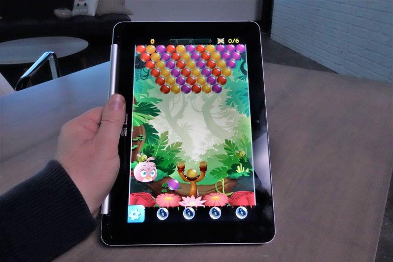 chromebook che supporta Android in modalità tablet