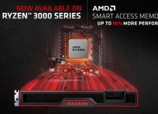 Smart Access Memory su processori Ryzen 3000