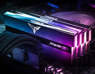 TEAM XTREEM ARGB 16 GB DDR4-3600 ram