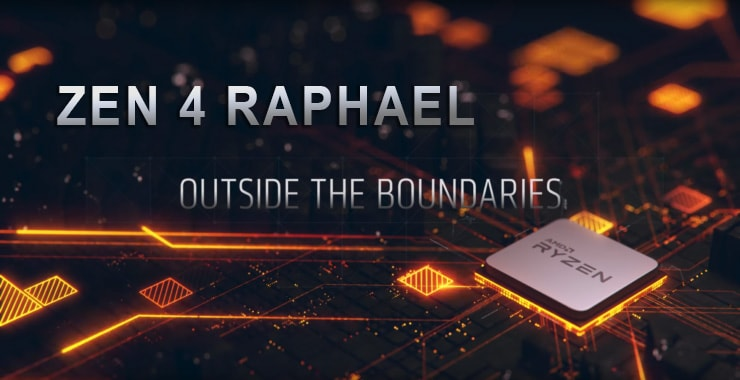 CPU Ryzen Raphael AMD
