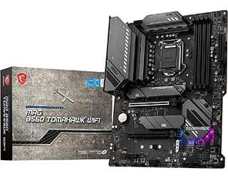 MSI MAG B560 TOMAHAWK WIFI migliore scheda madre ATX B560
