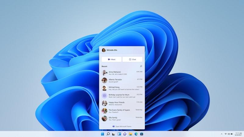 Come avviare Teams Chat su Windows 11