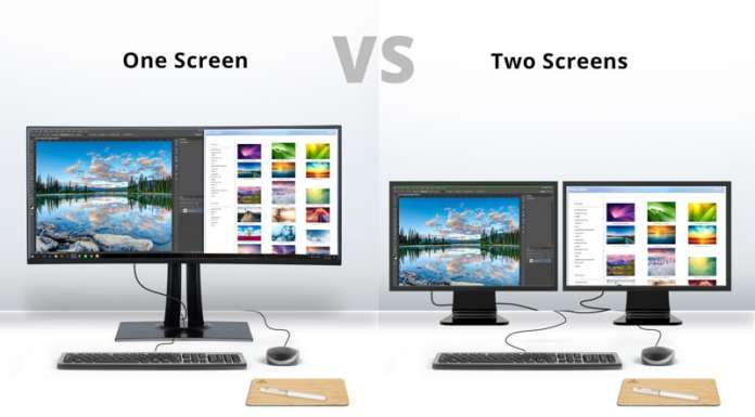 Ultrawide o doppio monitor