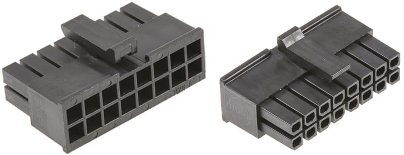 Molex connettore Micro-Fit 3.0 a 16 pin